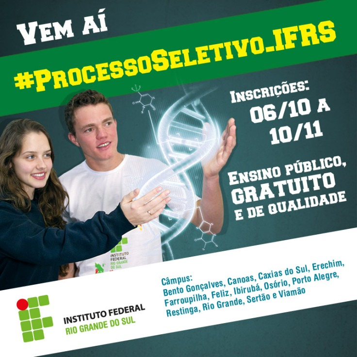 Banner Processo Seletivo IFRS